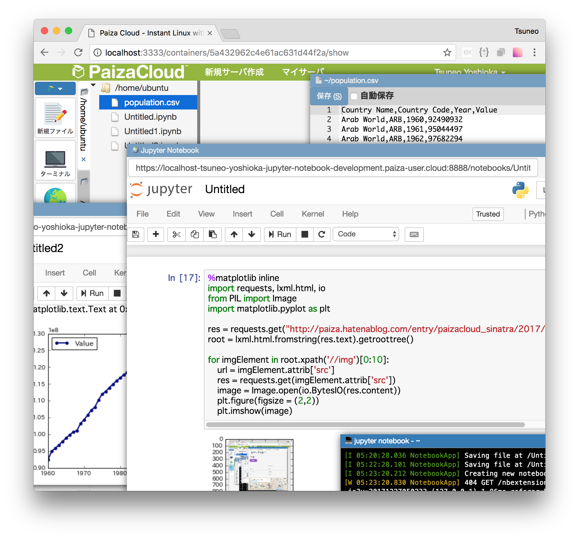 Jupyter Notebook Online - [Jupyter Notebook Cloud IDE] Browser-based